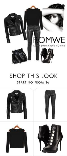 """Total Black"" by kassya27 on Polyvore featuring мода, Chanel, IRO, Yves Saint Laurent, Alexander McQueen и STELLA McCARTNEY"