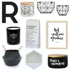 A little bit of monochrome goodness for a Wednesday <3 shop the range over at For Keeps >>> www.forkeeps.co.nz #mono #monichrome #monochromedecor #blackandwhite #blackandwhitedecor #homedecor #seagrass #seagrassbellybasket #lesac #kitchencanister #candle #soycandle #love #forkeepsstore
