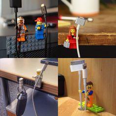 follow-the-colours-lego-hacks-organizador-cabo-celular.jpg (620×620)