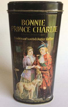 Bonnie Prince Charlie Scottish Butter Toffees Empty Tin  250Gm collectable   | eBay