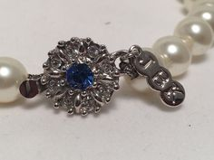 Camrose & Kross, Jacqueline B. Jacqueline Kennedy Jewelry, Faux Pearl Necklace, Sapphire, Heaven, Pearls, Crystals, Cover, Rings, Style