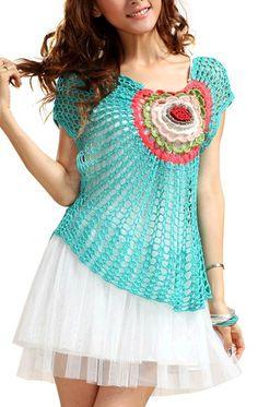 Crochetpedia: Cute Shirt and Dress Crochet Inspiration****************
