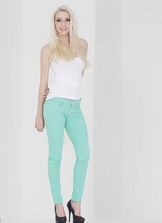 seafoam pants