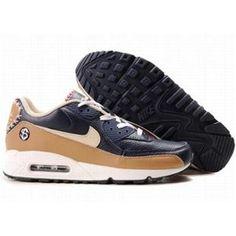 http://www.asneakers4u.com/ 309299 048 Nike Air Max 90 Black Brown D05065