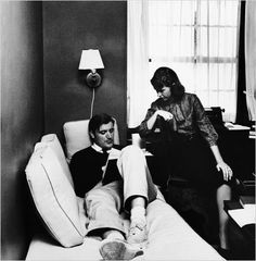 Sylvia Plath and Ted Hughes read