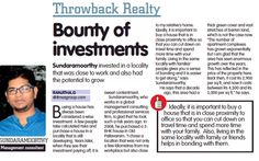 Throwback Realty: Bounty of investments! #Throwback2017 #ThrowBackMonday #Realty #RealEstate #RealTime #investing #InvestingInPeople #Property #propertydevelopment #listing #Home #Apartments