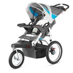 Amazon.com: Schwinn Turismo Single Swivel Stroller, Green/Black: Sports & Outdoors