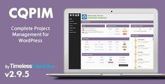 CQPIM v3.0.1  WordPress Project Management Plugin  Blogger Template