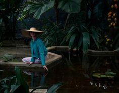 MYSTERY GARDEN / LE MILE MAGAZINEE   Photographer: Elizaveta Porodina #fashion #editorial
