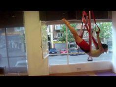 Aerial yoga routine with Spanish flavor. Location: International Aeroyoga Association (Madrid, Spain) Enjoy it!!!