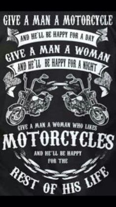 Motorcycle Memes, Biker Quotes, or Rules of the Road - they are what they are. A Biker& way of life. Harley Davidson Quotes, Harley Davidson Motorcycles, Triumph Motorcycles, Custom Motorcycles, Easy Rider, Motocross, Motorcycle Memes, Motorcycle Art, Motorcycle Couple