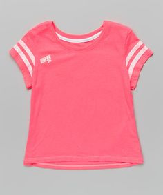 Another great find on #zulily! Cotton Candy & White Gym Tee #zulilyfinds