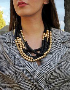 La collana Kazakistan realizzata a mano è comoda e semplice da indossare. Disegnata da Bijondo per voi! Shopping Vouchers, Jewelry, Fashion, Moda, Jewlery, Jewerly, Fashion Styles, Schmuck, Jewels