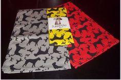 Boxer Dog Silhouette Kitchen Tea Towel Dog Silhouette, Boxer Dogs, Tea Towels, Printed Cotton, Colours, Interior, Kitchen, How To Make, Gifts
