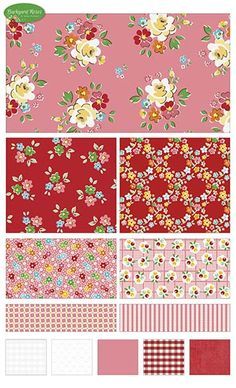 Backyard Roses  fabric line by Nadra Ridgeway for Riley Blake Designs—Subscribe to our newsletter at http://www.rileyblakedesigns.com/newsletter/