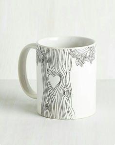 Heart Tree Mug