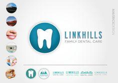 Linkhills Family Dental Care #Branding #Identity #MaverickDesign