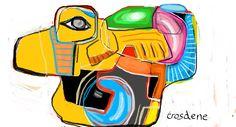 TR-444-2 Digital painting 40X30 cm Trosdene - 2015 www.trosdene.com