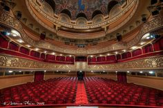 Timisoara - Inside of the Opera House (concert hall) by Antonius Plaian, with such magnificent history Cathedral Architecture, New Journey, Concert Hall, Pergola Kits, Opera House, The Incredibles, Photography, Beautiful, Performing Arts