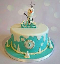 Torta-Olaf-Frozen