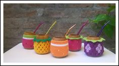 Mate Crochet | LOCAL Coffee Cozy, Crochet Home, Textiles, Decorating, Cup Holders, Pot Holders, Amigurumi, Cozy Cafe, Crochet House