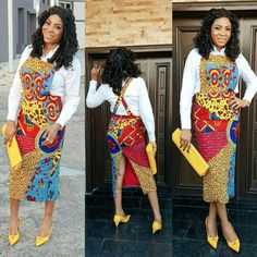 Top latest african fashion look African Fashion Designers, African Print Fashion, African Fashion Dresses, Fashion Prints, Fashion Outfits, African Outfits, African Prints, Fashion Ideas, Women's Fashion