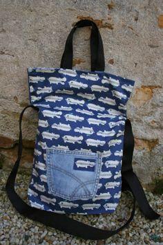PANDIELLEANDO: Reciclar vaqueros= Regalar bolsos