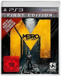Metro: Last Light - First Edition - 100% uncut - [PlayStation 3]: Amazon.de: Games