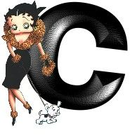 Black Betty Boop Pictures Free | Betty boop black 1 Alphabet Graphics and Animated Gifs