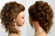 Image result for formal hairstyles for long hair