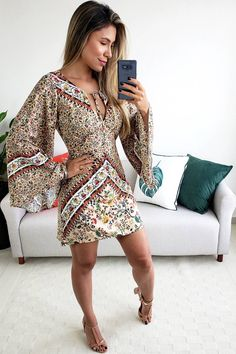 Unique Prom Dresses, Casual Dresses For Women, Casual Outfits, Clothes For Women, Tomboy Fashion, Boho Fashion, Dress Outfits, Fashion Dresses, Island Outfit