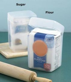 Place whole bag inside or pour into container..Can be used both ways.