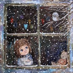 Children illustration christmas kids 69 Ideas for 2019 Art And Illustration, Christmas Illustration, Make Up Art, Art For Kids, Christmas Pictures, Christmas Art, Winter Christmas, Illustrator, Naive Art