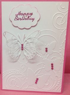 Darice embossing folder Memory  Box Butterfly  die