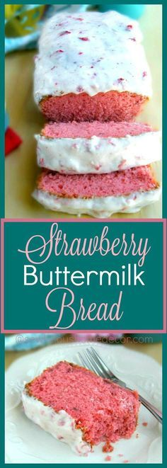 Homemade Buttermilk-Strawberry-Bread-with-Strawberry-Cream-Cheese-Icing-sewlicioushomedecor