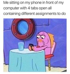 Or I'll just have that 5th tab open and whenever someone passes by I'll switch tabs