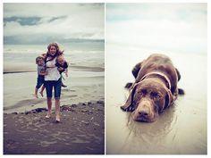 puppy beach shoot