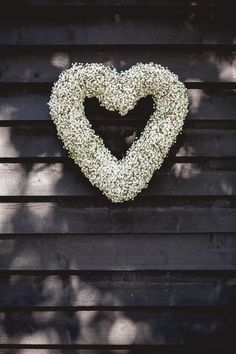 Gyp wedding heart @Old Brook Barn
