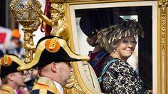 Prinsjesdag  -  Beatrix in de gouden koets