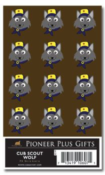 Cub Scout Wolf Stickers