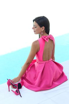 Tendance robes de soirée : 45 Must Have And Trending Fall Outfits For September Fall Dresses, Cute Dresses, Beautiful Dresses, Evening Dresses, Summer Dresses, Gorgeous Dress, Pink Fashion, Fashion Dresses, Fall Fashion