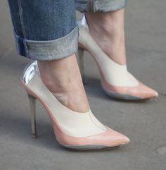 London Fashion Week Fall 2013 #streetstyle #LFW #fashionweek #shoes