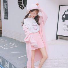 kehidupan Y/N sebagai Idol kpop dibawah naungan SM ent langsung baca… #fiksipenggemar # Fiksi Penggemar # amreading # books # wattpad Harajuku Fashion, Kawaii Fashion, Cute Fashion, Asian Fashion, Girl Fashion, Korean Outfits, Mode Outfits, New Outfits, Kawaii Dress