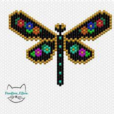 Bead Loom Patterns, Beaded Jewelry Patterns, Peyote Patterns, Beading Patterns, Brick Stitch Tutorial, Seed Bead Crafts, Beaded Banners, Brick Stitch Earrings, Beaded Animals