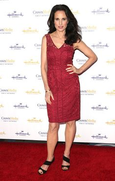 Andie MacDowell Photos Photos - Actress Andie MacDowell attends Hallmark Channel & Hallmark Movie Channel's 2014 Winter TCA Party at The Huntington Library and Gardens on January 11, 2014 in San Marino, California. - Hallmark Channel & Hallmark Movie Channel's 2014 Winter TCA Party - Arrivals