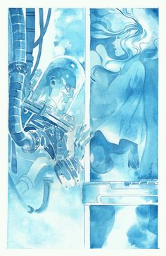 Mr. FREEZE & NORA •Duss005 i have thisl poster