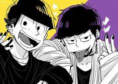 Osomatsu-san- Ichimatsu and Jyushimatsu #Anime「♡」punk