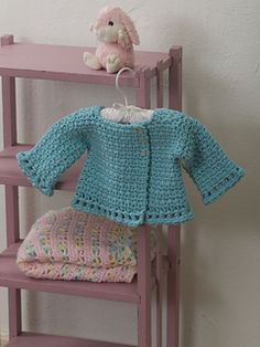 Little Princess Jacket pattern by Tammy Hildebrand