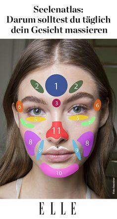 Das Gesicht ist der Spiegel unserer Seele. An keinem Teil unseres Körpers werden unsere Empfindungen deutlicher sichtbar. Deshalb sollten wir ihm besondere Aufmerksamkeit widmen. Denn alle Teile unseres Gesichts sind mit anderen Teilen unseres Körpers, unseren Organen und unserer Seele verknüpft. So hat auch eine Gesichtsmassage Einfluss auf unser körperliches und seelisches Wohlbefinden.