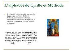 """Résultat de recherche d'images pour """"cyrille et méthode alphabet"""""""